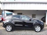 2017 Black Cherry Kia Sportage LX AWD #111986536