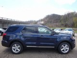 2016 Blue Jeans Metallic Ford Explorer XLT 4WD #111986532
