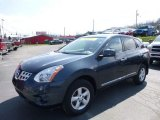 2013 Graphite Blue Nissan Rogue S AWD #111986644