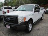 2011 Oxford White Ford F150 XL SuperCab 4x4 #111986748