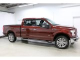 2016 Bronze Fire Ford F150 XLT SuperCrew 4x4 #111986376