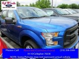 2016 Blue Flame Ford F150 XL SuperCrew #112015462