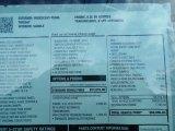 2016 Chevrolet Silverado 1500 High Country Crew Cab 4x4 Window Sticker