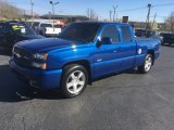 2003 Arrival Blue Metallic Chevrolet Silverado 1500 SS Extended Cab AWD #112015553