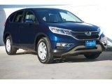 2016 Obsidian Blue Pearl Honda CR-V EX #112028439