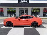 2015 Competition Orange Ford Mustang EcoBoost Premium Coupe #112033411