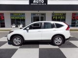 2013 White Diamond Pearl Honda CR-V EX #112033408
