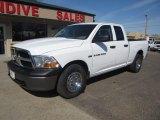 2011 Bright White Dodge Ram 1500 ST Quad Cab 4x4 #112033514