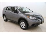 2014 Polished Metal Metallic Honda CR-V LX AWD #112033451