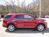 2016 Ruby Red Metallic Tri-Coat Ford Explorer Limited 4WD #112033233