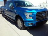 2016 Blue Flame Ford F150 XLT SuperCrew #112033230
