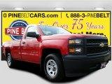 2014 Victory Red Chevrolet Silverado 1500 WT Regular Cab #112033174