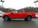 2016 Race Red Ford F150 XLT SuperCrew 4x4 #112033329