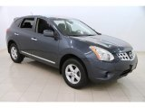 2013 Graphite Blue Nissan Rogue S AWD #112058796