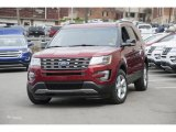 2016 Ruby Red Metallic Tri-Coat Ford Explorer XLT 4WD #112068191