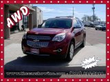 2010 Cardinal Red Metallic Chevrolet Equinox LTZ AWD #112068276