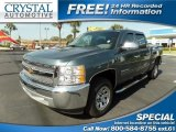 2012 Blue Granite Metallic Chevrolet Silverado 1500 LS Crew Cab #112068430