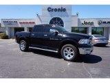 2012 Black Dodge Ram 1500 Laramie Crew Cab 4x4 #112068260