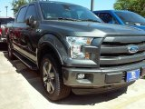 2016 Magnetic Ford F150 Lariat SuperCrew 4x4 #112068051