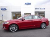 2016 Ruby Red Metallic Ford Fusion SE #112068484