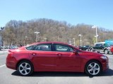 2015 Ruby Red Metallic Ford Fusion SE AWD #112068122