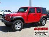 2016 Firecracker Red Jeep Wrangler Unlimited Sport 4x4 #112068203