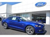2016 Deep Impact Blue Metallic Ford Mustang GT Coupe #112117582