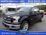 2016 Shadow Black Ford F150 King Ranch SuperCrew 4x4 #112117359