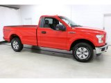 2016 Race Red Ford F150 XL Regular Cab 4x4 #112117320