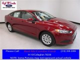 2016 Ruby Red Metallic Ford Fusion S #112149245