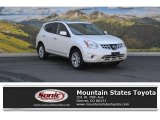 2013 Pearl White Nissan Rogue SV AWD #112149186