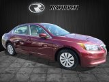 2011 Basque Red Pearl Honda Accord LX Sedan #112149295