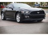 2015 Black Ford Mustang EcoBoost Coupe #112149425