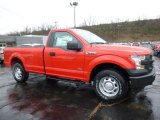 2016 Race Red Ford F150 XL Regular Cab 4x4 #112149349