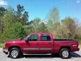2006 Sport Red Metallic Chevrolet Silverado 1500 LS Crew Cab 4x4 #112149168