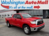 2011 Radiant Red Toyota Tundra TRD Double Cab 4x4 #112184844