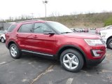 2016 Ruby Red Metallic Tri-Coat Ford Explorer XLT 4WD #112208414