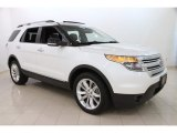 2014 White Platinum Ford Explorer XLT 4WD #112229398