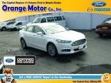 2015 Oxford White Ford Fusion Titanium #112229267