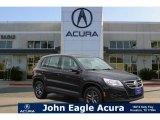 2011 Deep Black Metallic Volkswagen Tiguan S #112229117