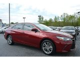 2015 Ruby Flare Pearl Toyota Camry SE #112229235