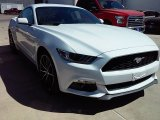 2016 Oxford White Ford Mustang EcoBoost Coupe #112229172