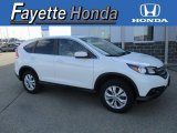 2013 White Diamond Pearl Honda CR-V EX AWD #112229417