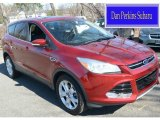 2013 Ruby Red Metallic Ford Escape SEL 1.6L EcoBoost 4WD #112259746