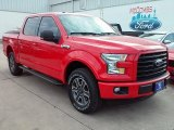 2016 Race Red Ford F150 XLT SuperCrew 4x4 #112259838