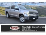 2016 Silver Sky Metallic Toyota Tundra SR5 CrewMax 4x4 #112284624