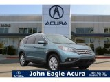 2013 Twilight Blue Metallic Honda CR-V EX-L #112284682
