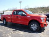 2016 Race Red Ford F150 XL SuperCab 4x4 #112284793