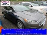2013 Ingot Silver Metallic Ford Fusion S #112284736