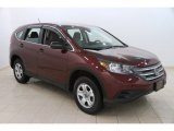 2014 Basque Red Pearl II Honda CR-V LX AWD #112284966
